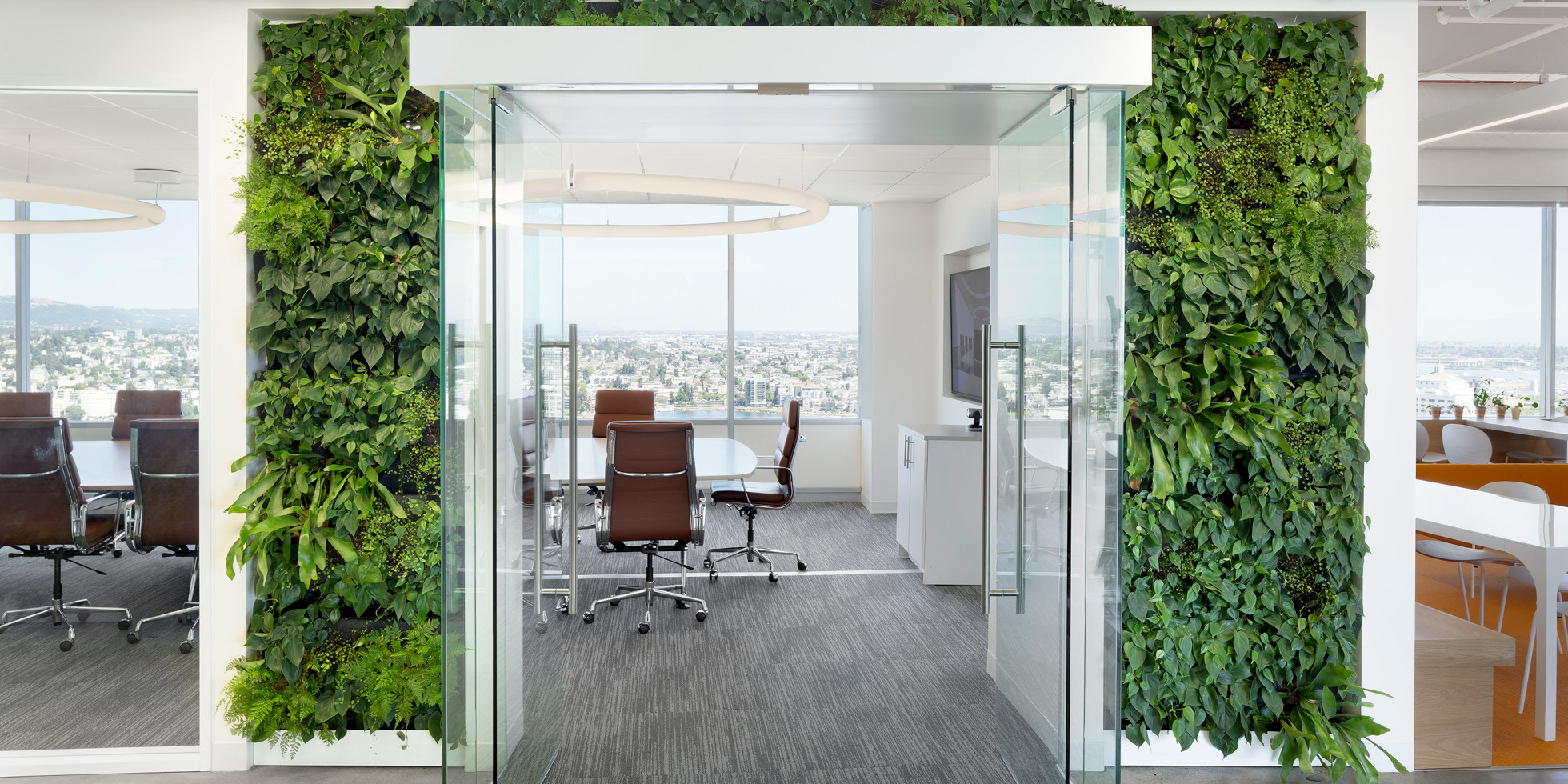 Solar Mosaic Living Wall by Habitat Horticulture - View 2