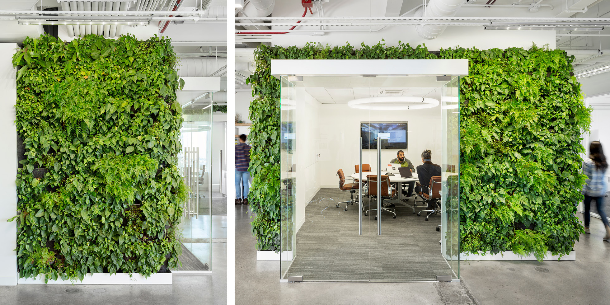 Solar Mosaic Living Wall by Habitat Horticulture - View 5