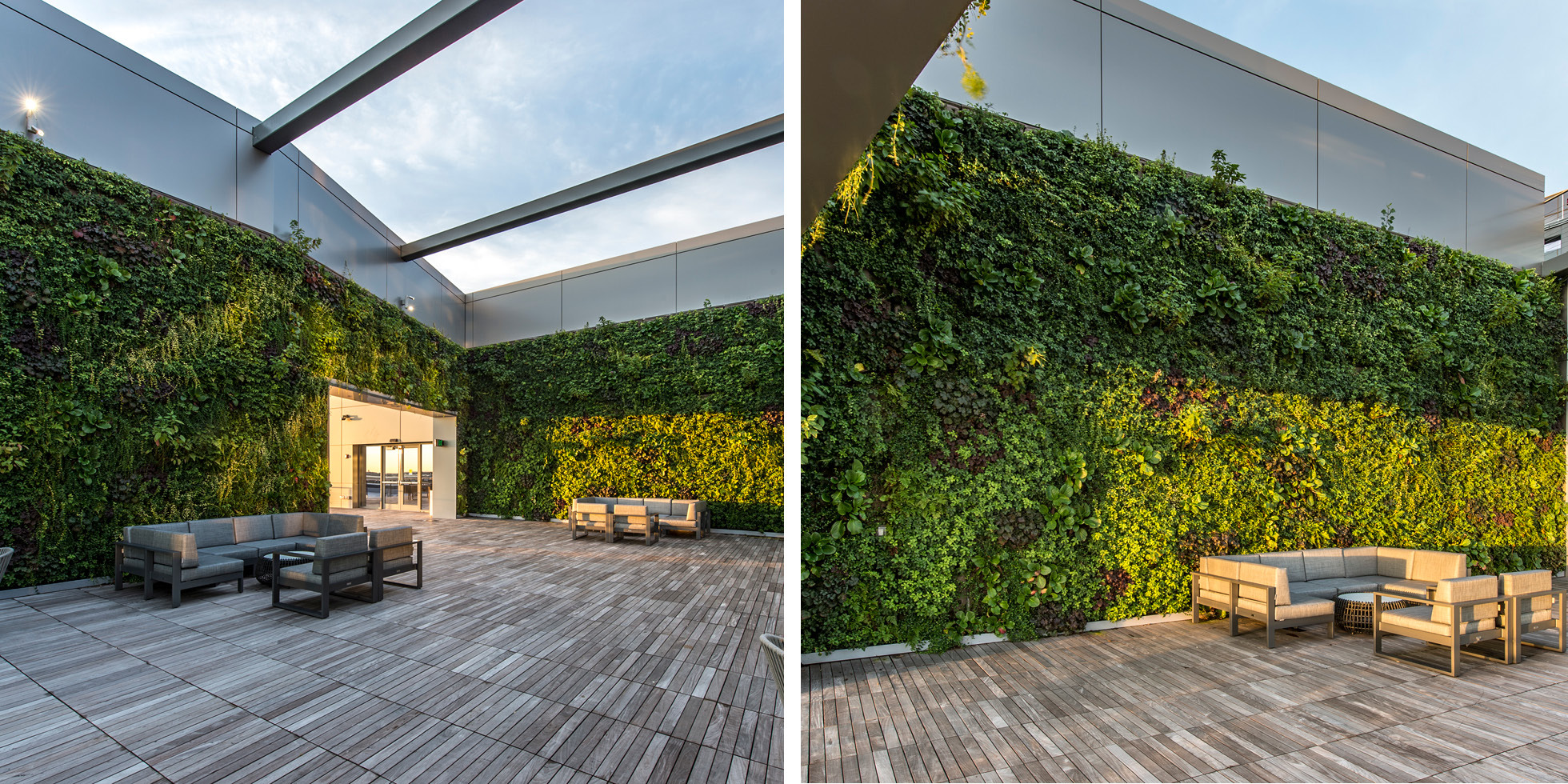 Boston Pier 4 Living Wall by Habitat Horticulture - View 2