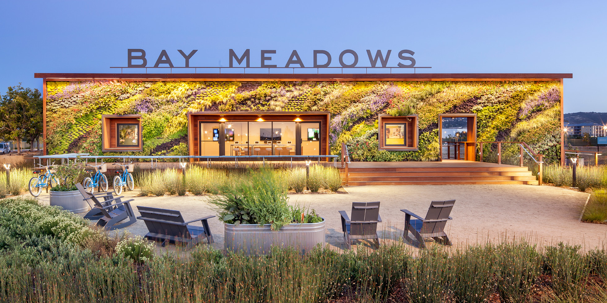 Bay Meadows Welcome Center Living Wall by Habitat Horticulture - View 6