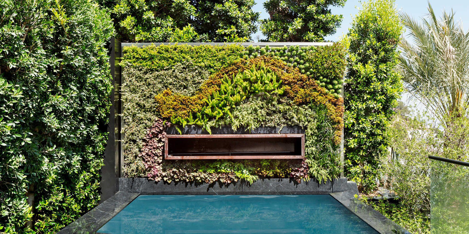 Los Angeles Residence Living Wall by Habitat Horticulture - View 1