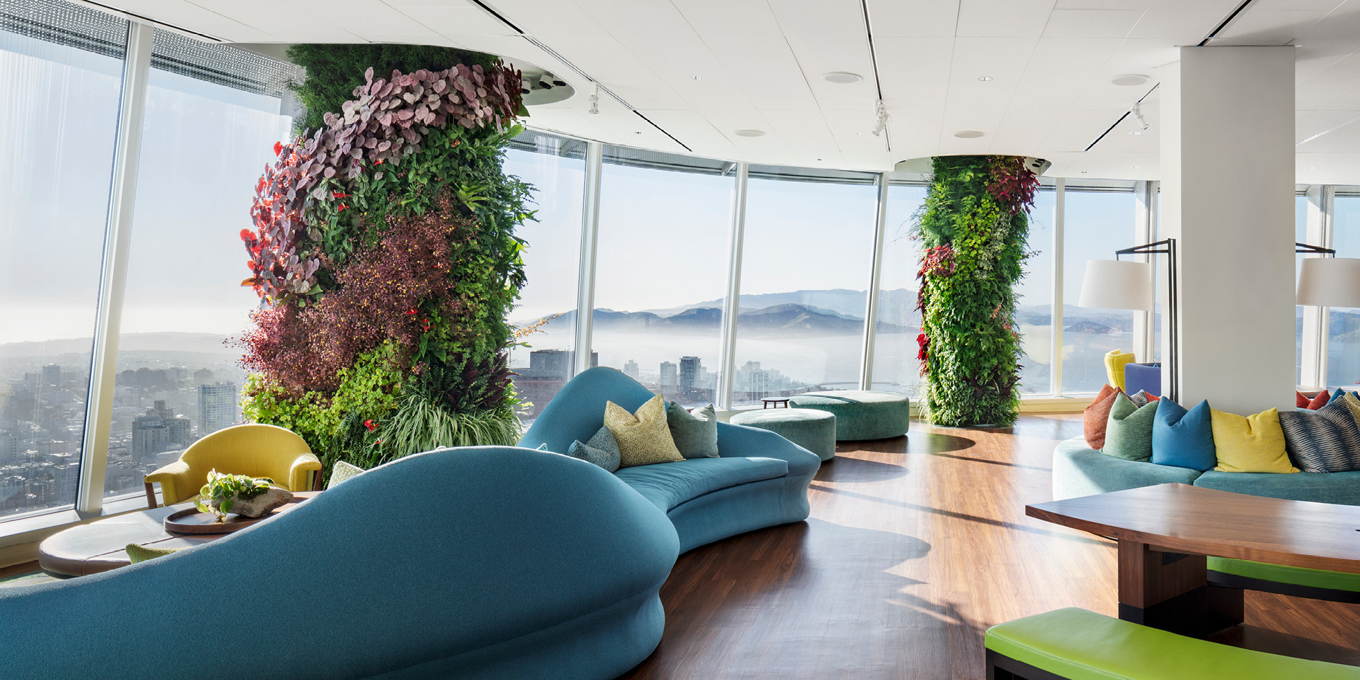 Salesforce Tower  Living Wall by Habitat Horticulture - View 4