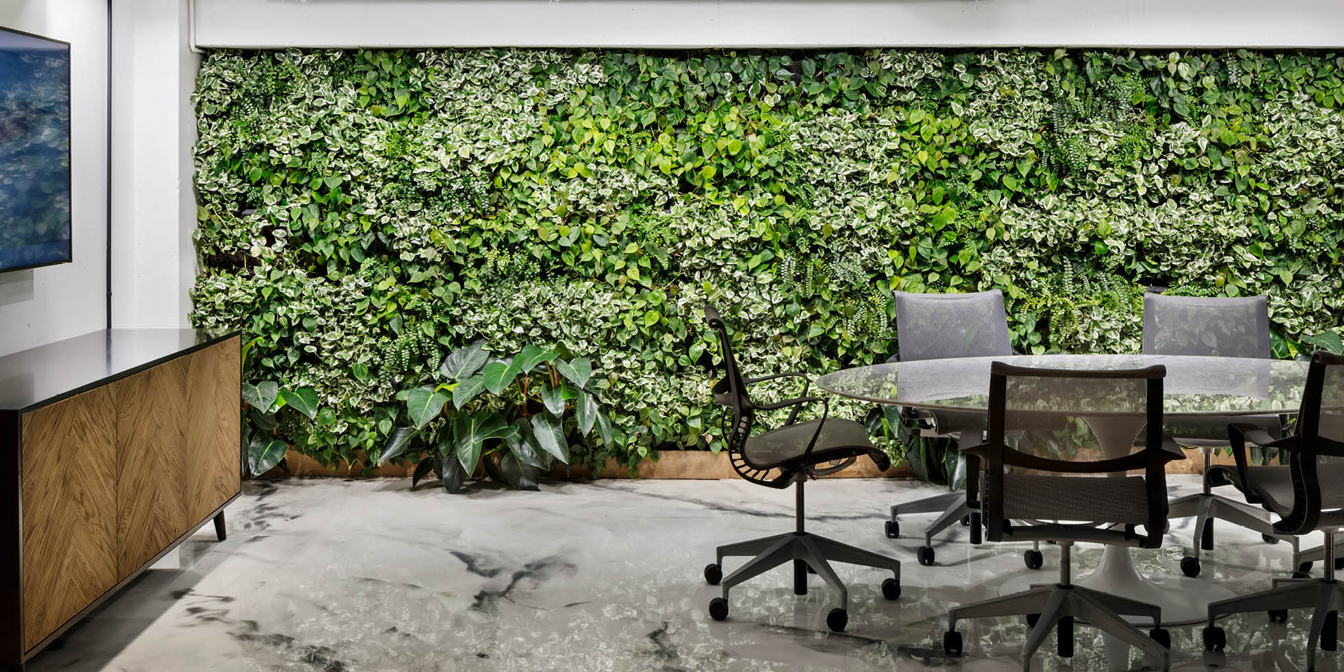 Craft Ventures Living Wall by Habitat Horticulture - View 3