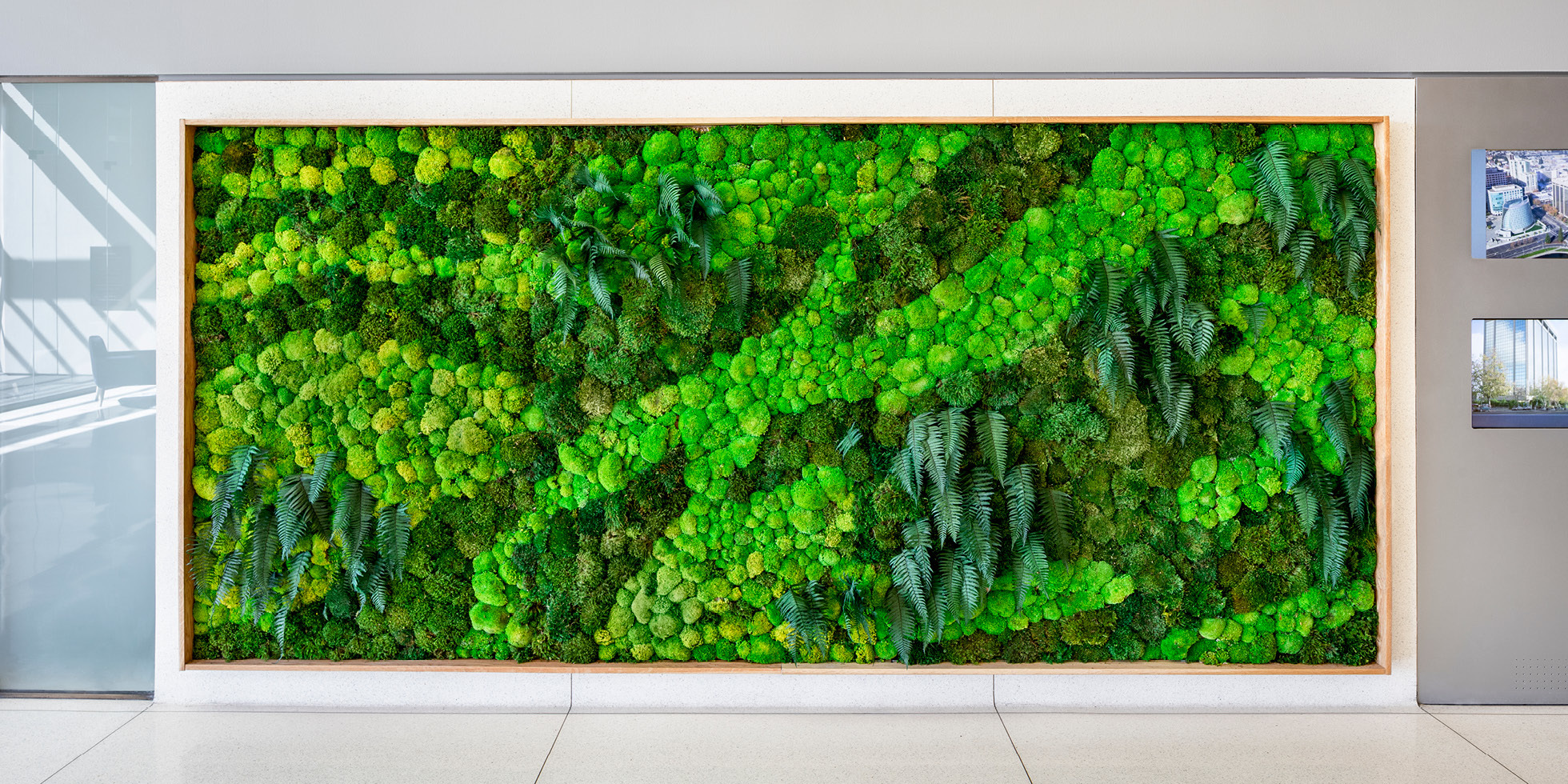 Harvest Properties Living Wall by Habitat Horticulture - View 1