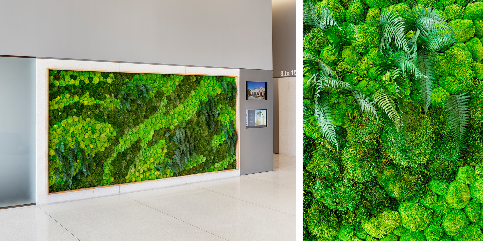 Harvest Properties Living Wall by Habitat Horticulture - View 2