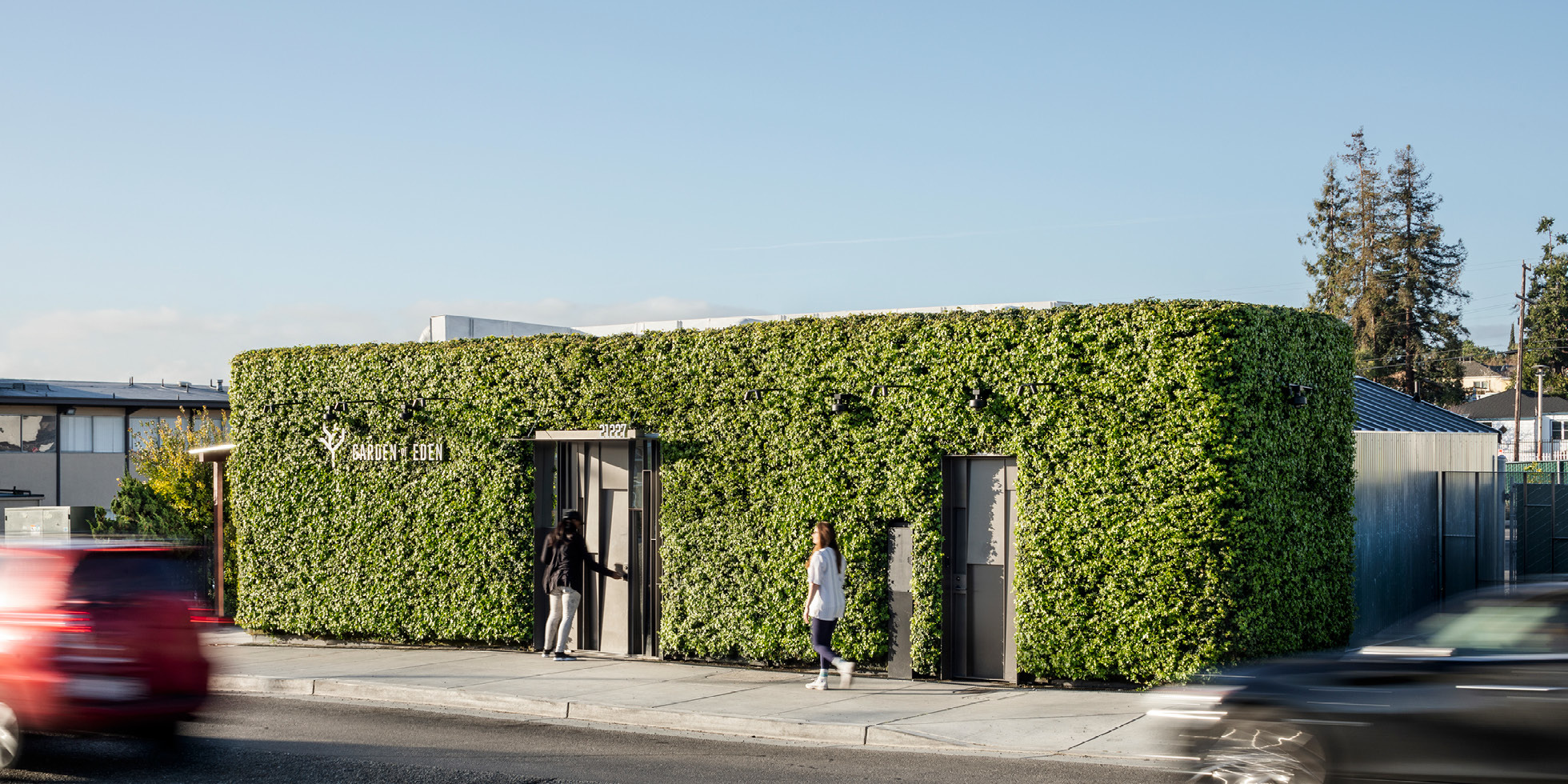 Garden of Eden Living Wall by Habitat Horticulture - View 1