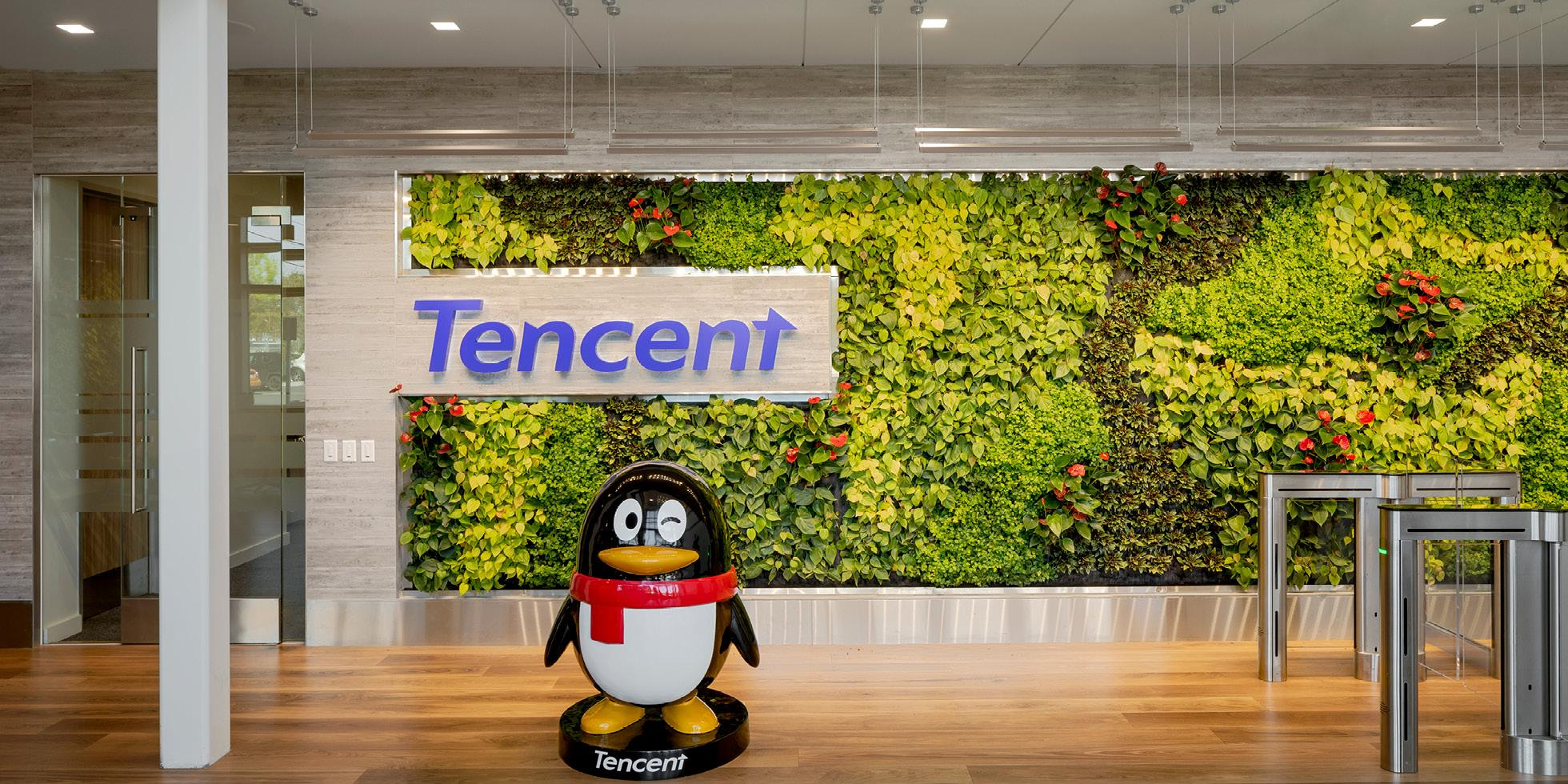 Tencent America Living Wall by Habitat Horticulture - View 1