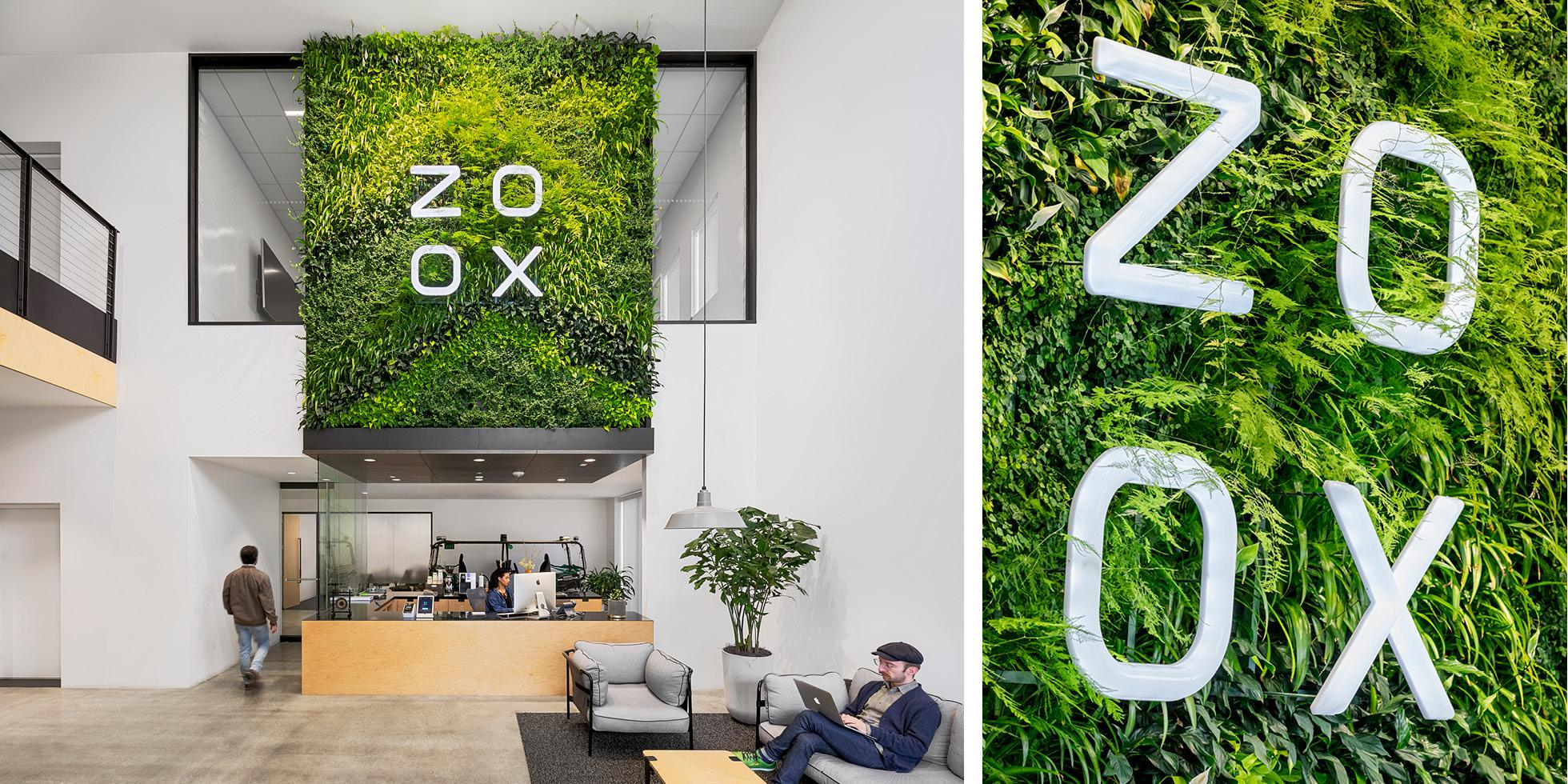 Zoox Living Wall by Habitat Horticulture - View 1