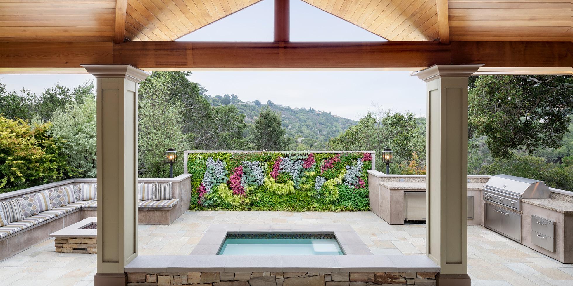 La Senda Road Living Wall by Habitat Horticulture - View 1