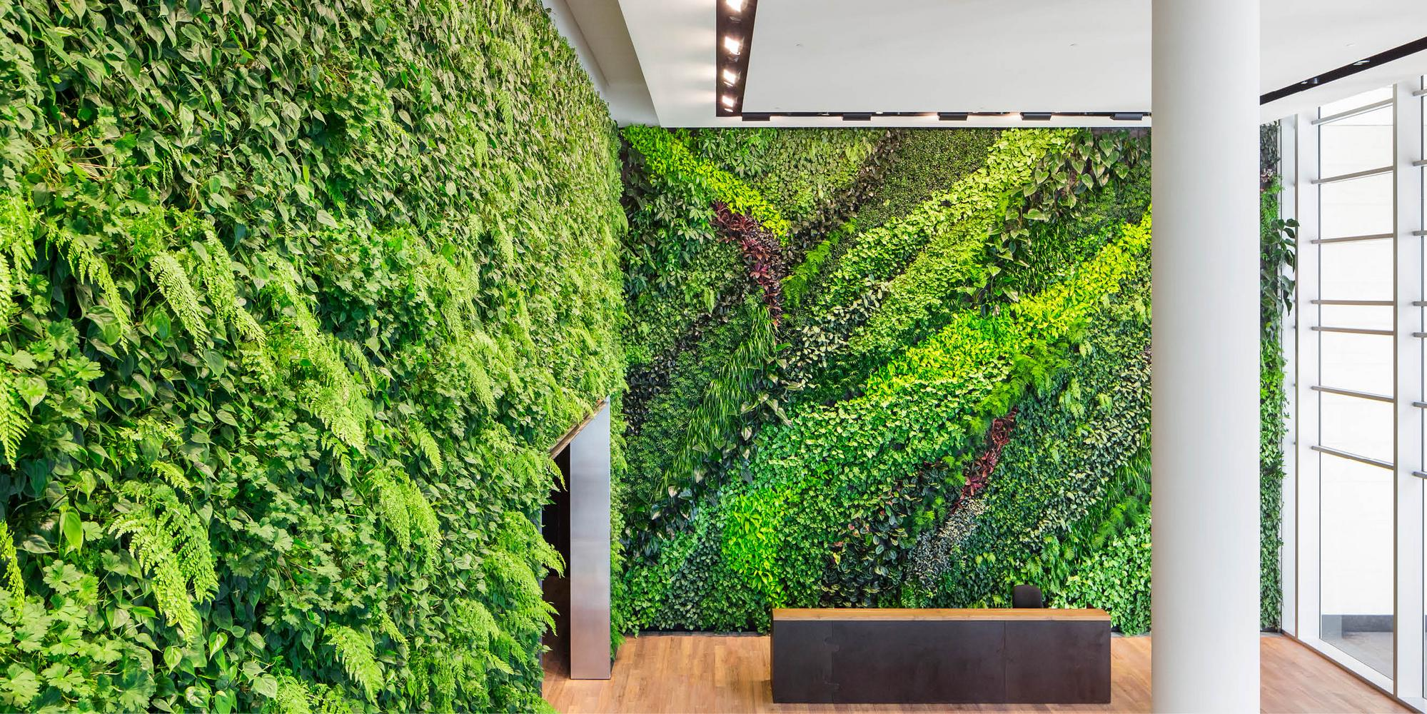 Foundry Square III Living Wall by Habitat Horticulture - View 5