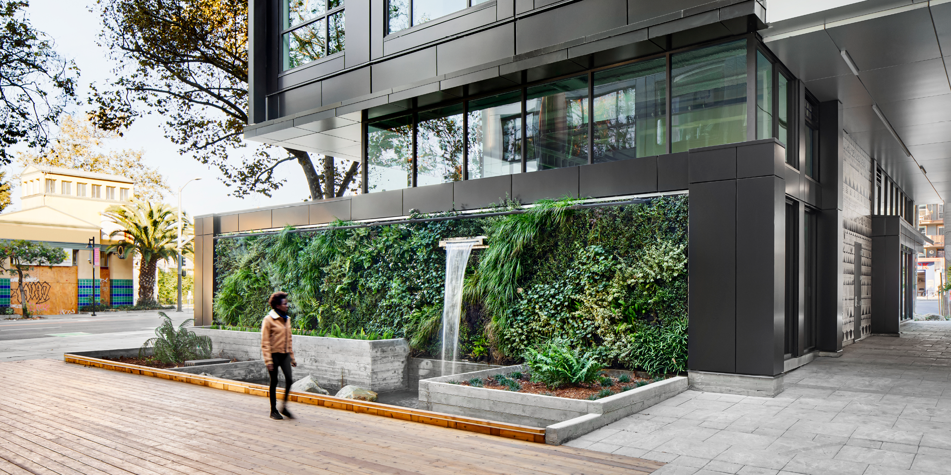 5110 Telegraph Living Wall by Habitat Horticulture - View 3