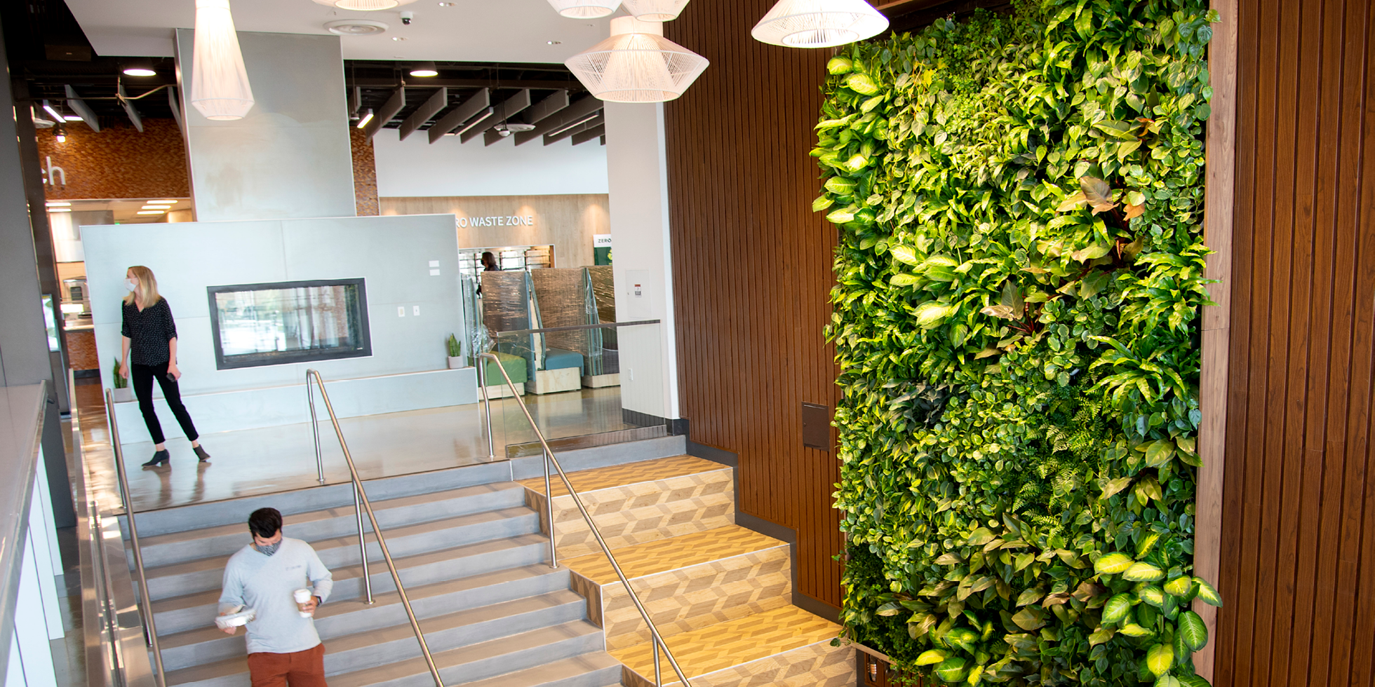 Cal Poly Vista Grande Living Wall by Habitat Horticulture - View 1