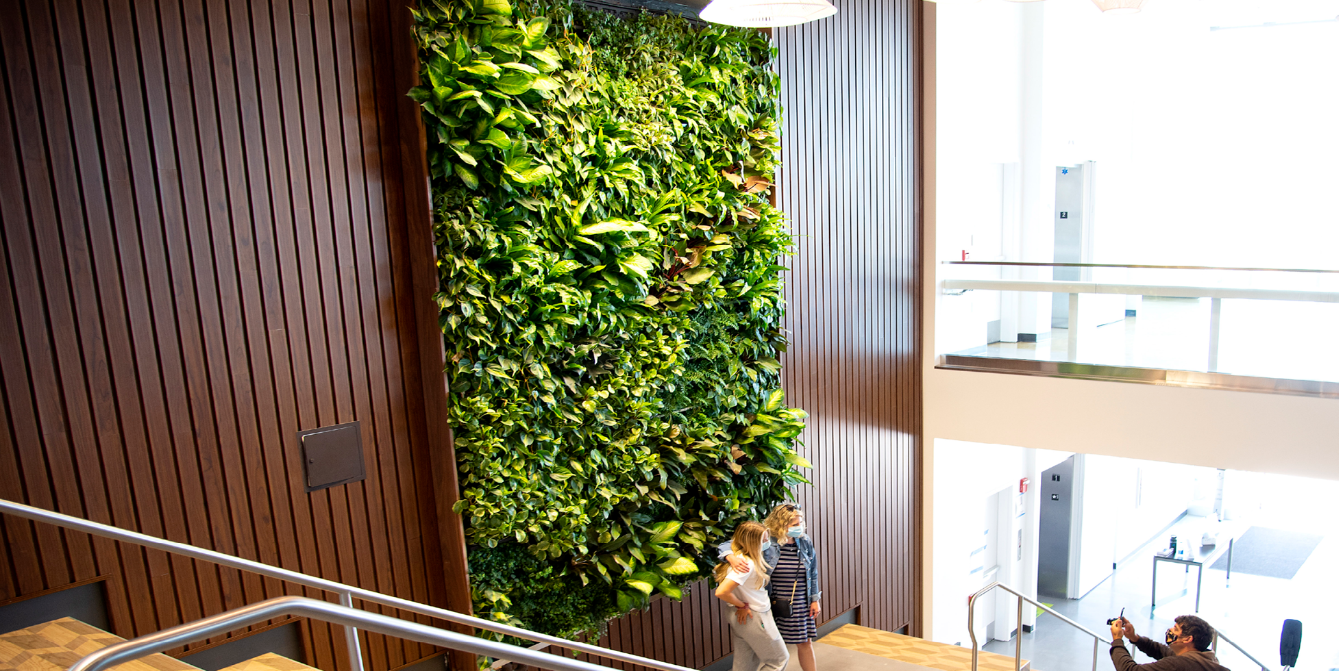 Cal Poly Vista Grande Living Wall by Habitat Horticulture - View 3